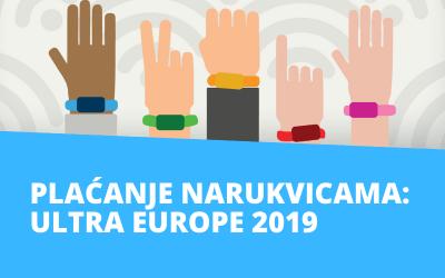 Plaćanje ETRANET-ovim narukvicama na Ultri Europe 2019