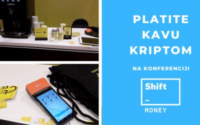 Platite kavu kriptom na konferenciji Shift Money 2019