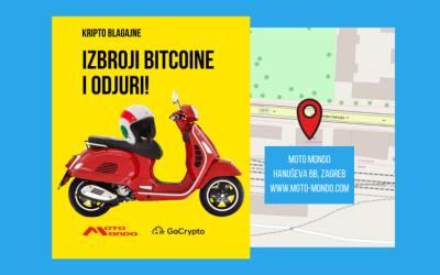 Moto Mondo omogućio servis i kupovinu motocikala, skutera i dodatne opreme kriptovalutama