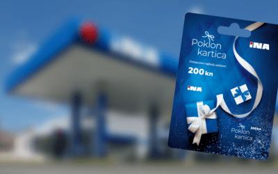 Isporučene poklon kartice za INA-Industrija nafte (INA)