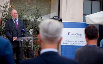 AmCham koktel s veleposlanikom SAD-a, Nj.E. W. R. Kohorstom
