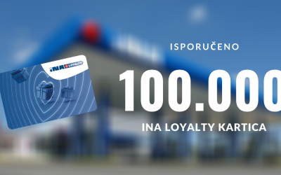 Isporučeno 100.000 kartica za INA Loyalty program
