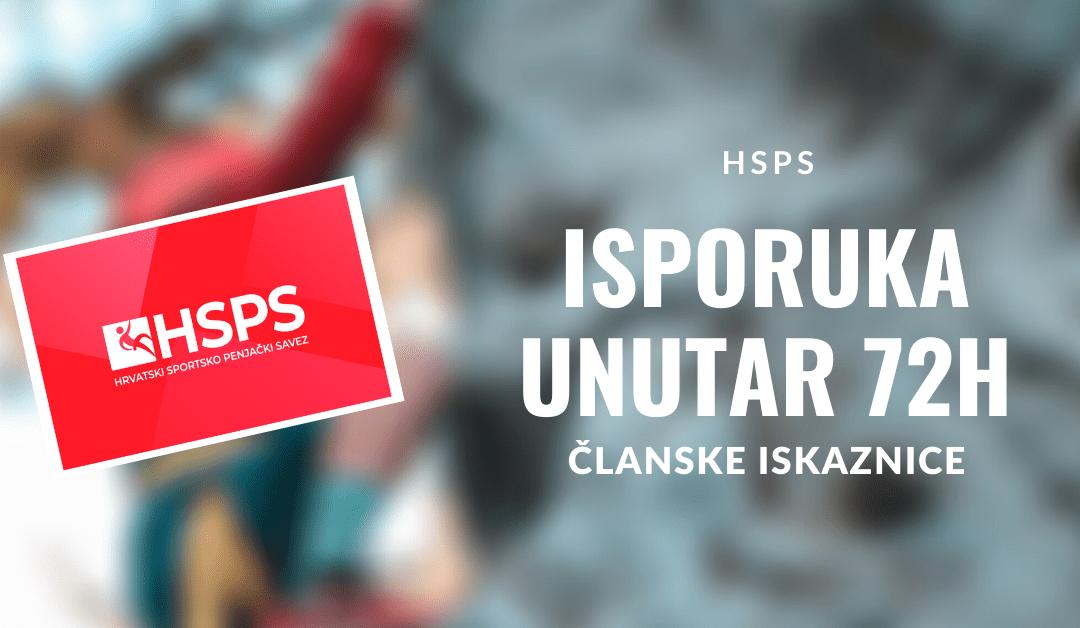 Isporučene članske iskaznice za Hrvatski sportsko penjački savez