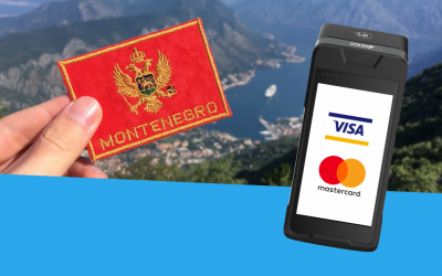 We are now Visa/Mastercard certified for payments in Montenegro